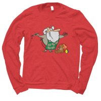 Santa Workshop Christmas jumper by Clique Wear