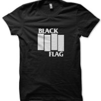 Black Flag t-shirt by Clique Wear