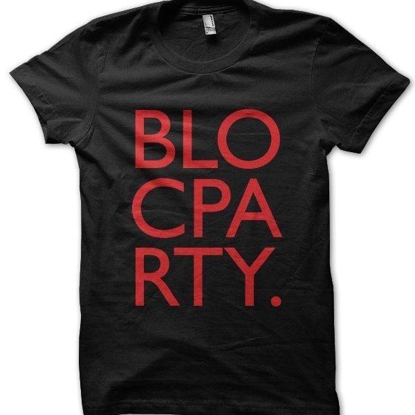 Bloc Party t-shirt by Clique Wear