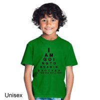 I Am Going to Be a Big Brother t-shirt by Clique Wear