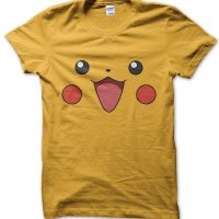 Pikachu face t-shirt by Clique Wear