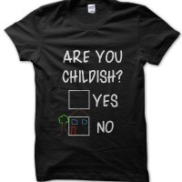 Are you Childish t-shirt by Clique Wear