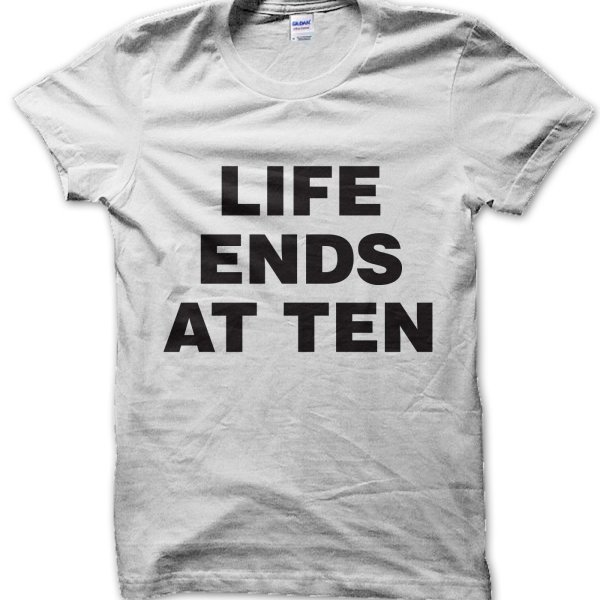 Life Ends At Ten t-shirt by Clique Wear