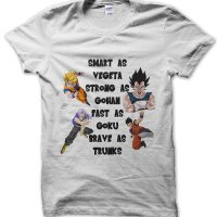 Smart as Vegeta Dragon Ball Z t-shirt by Clique Wear