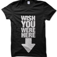 Wish You Were Here t-shirt by Clique Wear