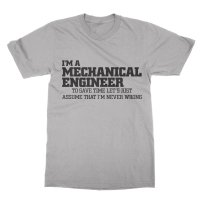 I'm a mechanical engineer t-shirt by Clique Wear