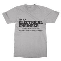 I'm an electrical engineer t-shirt by Clique Wear