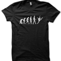 Evolution of a Ballet Dancer t-shirt by Clique Wear