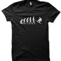 Evolution of a Snowboarder t-shirt by Clique Wear