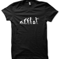 Evolution of a Zombie t-shirt by Clique Wear
