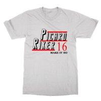 Picard Riker 16 Make It So t-shirt by Clique Wear