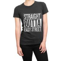 Straight Outta Easy Street t-shirt by Clique Wear