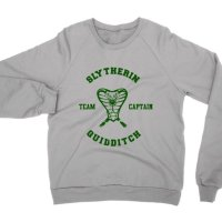 Slytherin Quiditch Team Captain sweatshirt by Clique Wear