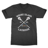 Whore Island Lacrosse t-shirt by Clique Wear