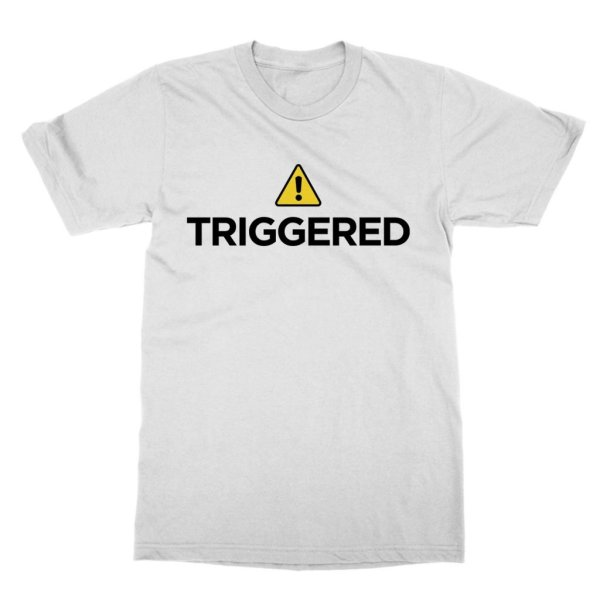 Triggered Warning t-shirt by Clique Wear