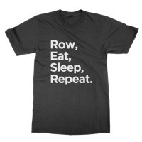 Row Eat Sleep Repeat t-shirt by Clique Wear