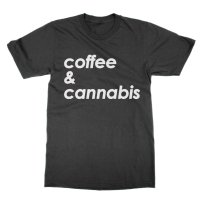 Coffee and Cannabis t-shirt by Clique Wear