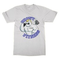 Brony Fitness t-shirt by Clique Wear