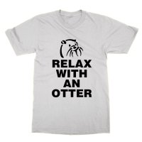 Relax With An Otter t-shirt by Clique Wear