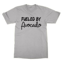 Fueled By Avacado t-shirt by Clique Wear