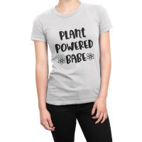 Plant Powered Babe t-shirt by Clique Wear