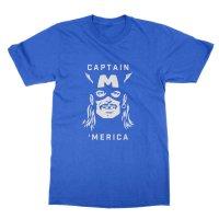 Captain Merica t-shirt by Clique Wear
