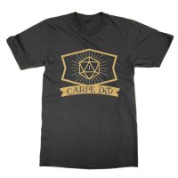 Carpe DM Dungeons and Dragons t-shirt by Clique Wear