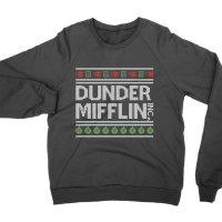 Dunder Mifflin Christmas jumper Sweatshirt by Clique Wear