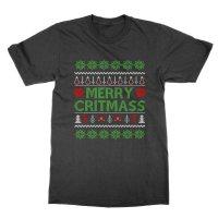 Merry Critmass t-shirt by Clique Wear