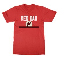 Red Dad t-shirt by Clique Wear