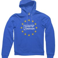 Dont Blame Me I Voted to Remain hoodie by Clique Wear