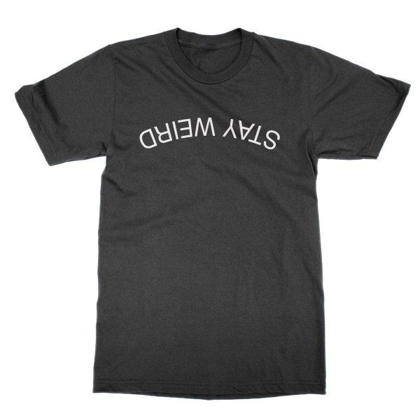 Stay Weird t-shirt by Clique Wear