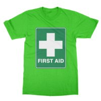 First Aid t-shirt by Clique Wear