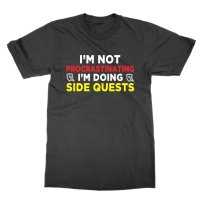 I'm Not Procrastinating I'm Doing Side Quests t-shirt by Clique Wear
