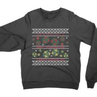 We Wish You a Merry Christmas and a Happy Critical Hit sweatshirt by Clique Wear