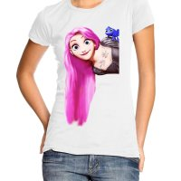 Punk Rapunsel t-shirt by Clique Wear