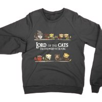 Lord of the Cats sweatshirt by Clique Wear