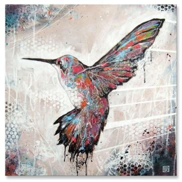 Humming Bird Canvas