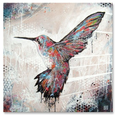 Humming Bird Canvas