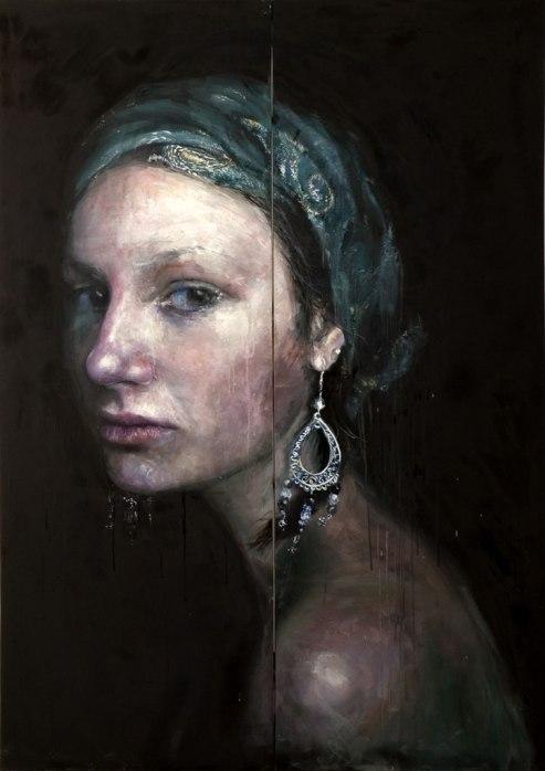 Omaggio A Vermeer 3 by Roberta Coni