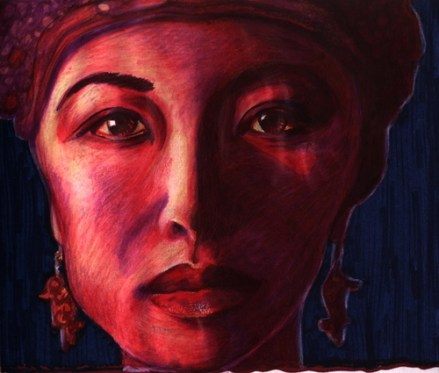 Woman from BAli