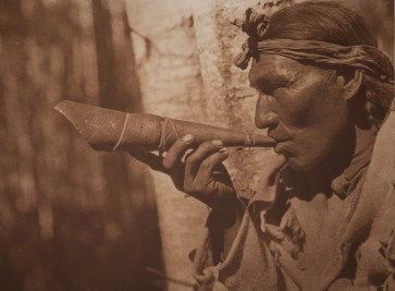 The Moose Hunter 1926 Photograph by Edward Sheriff Curtis