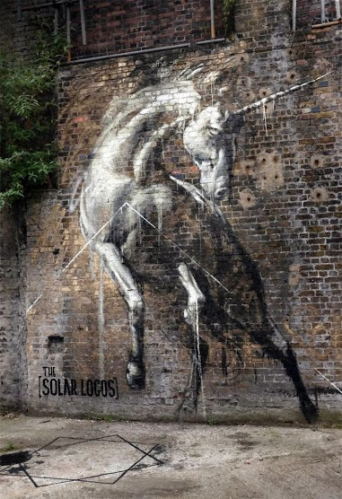 Street Art by Faith47 on the Streets of London