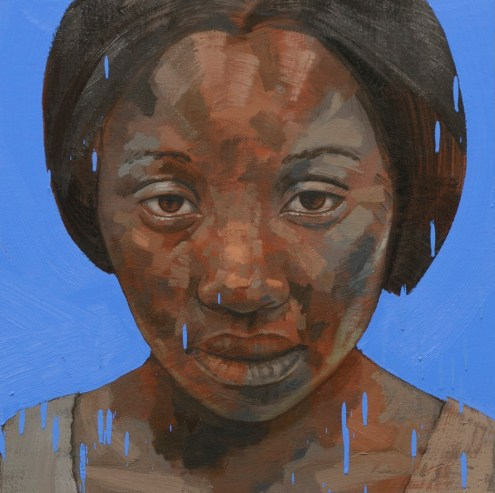 Girl With Blue