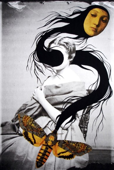 untitled collage by Eva Eun-Sil Han