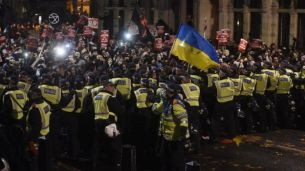 Million Mask March in London UK November 6, 2015