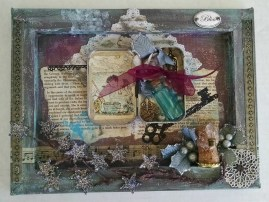Mixed Media Collage featuring Maurice Sendak character