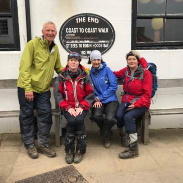 CMC Members complete Coast to Coast walk