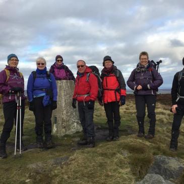 Ilkley Moor walk 10th November 2019
