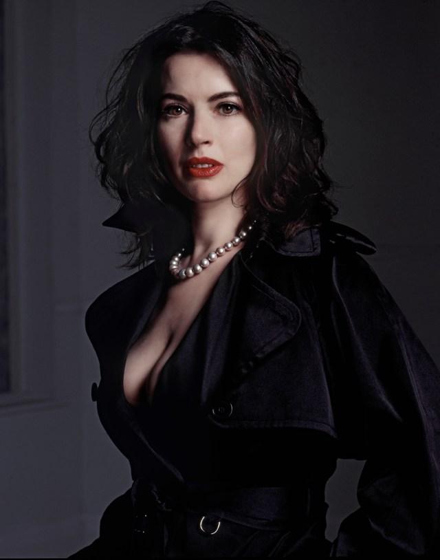 Nigella Lawson Black Raincoat.New,Arrowsmith.© 1